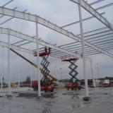 Kompleksowy montaż izolowanej hali stalowej w miejscowości Rąbień