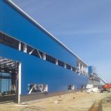 Hala produkcyjna-montaż płyt warstwowych ściennych i dachowych