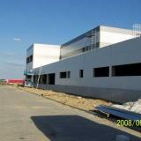 Budowa hali przemysłowej LG TV3