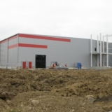 Zakład Produkcyjny w Kutnie - wykonanie lekkiej obudowy ścian i dachów