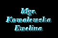Mgr. Kowalewska Ewelina
