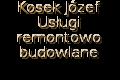 Kosek Józef Usługi remontow-budowlane