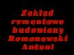 Zakład remontowo-budowlany Romanowski Antoni
