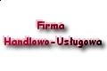 Firma Handlowo-Usługowa Tasak