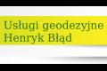 Usługi Geodezyjne Henryk Błąd