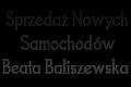 Sprzedaz nowych samochodów Beata Baliszewska