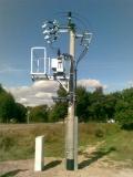 Słupowa stacja transformatorowa