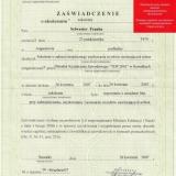 DACH-MEX Usługi Dekarskie Sylwester Franke, wyróżnienie
