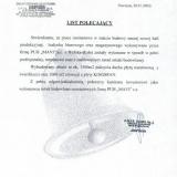 Przedsiębiorstwo Budowlane MAWI Wincenty Świergała, referencje