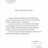 AnCz Andrzej Czarnecki, referencje
