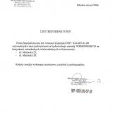 Referencje Zakład Remontowo-Budowlany Ratka Mariusz