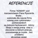 ADMAR PARKIETY, referencje