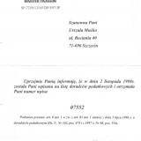Register Service Biuro Rachunkowe Urszula Mućko, uprawnienia