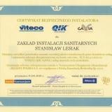 Certyfikat bezpiecznego instalatora
