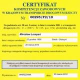 F.H.U. AUTOPART - referencje/certyfikaty