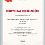 Zdzisław Puciński - Rzetelna Firma