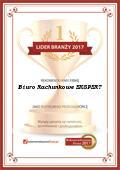 Biuro Rachunkowe EKSPERT  Sp. z o.o., Certyfikat