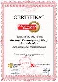 Gabinet Kosmetyczny Kingi Stankiewicz, Certyfikat