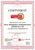 Para Władysław Instalatorstwo sanitarne i CO, Certyfikat