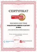 Damag Wielkopolski serwis paletowy, Certyfikat